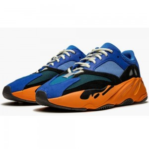 Best Quality Adidas Yeezy Boost 700 Bright Blue Running Shoes On Sale