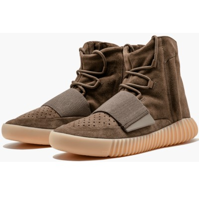 """Best Price For High-Top Yeezy Boost 750 """"Chocolate"""" BY2456 Replica"""