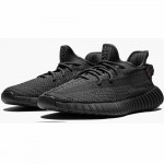 Replica FU9007 Yeezy Boost 350 V2 Static Black (Reflective) For Sale
