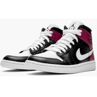 "Best Quality Nike WMNS Air Jordan 1 Mid BQ6472-016 ""Noble Red"" On Sale"