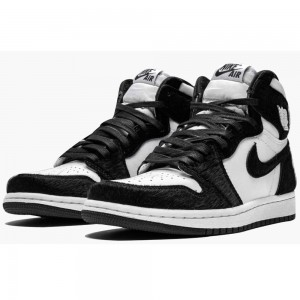 "Women's WMNS  Air Jordan 1 Retro High OG ""Panda"" CD0461 007 On Sale"