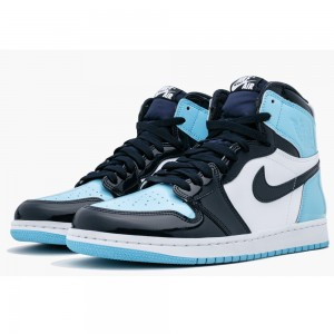 "CD0461-401 Women's Air Jordan 1 ""UNC Patent"" For Sale"