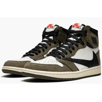 "Hot Sale Air Jordan 1 High Og Ts Sp CD4487-100 ""travis Scott"" For Men"