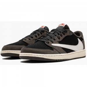 "Best Air Jordan 1 Low ""Travis Scott"" On Sale CQ4277-001"
