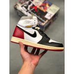 "Hot Sale 2018 Union x Air Jordan 1 ""Black Toe"" BV1300 106 On Sale"